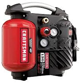 Craftsman Airboss™ 1.2 Gallon Oil-less Air Compressor and Hose Kit.