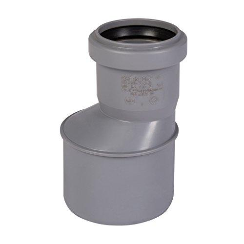 HT-Übergangsrohr DN 75/50 mit einseitiger Muffe