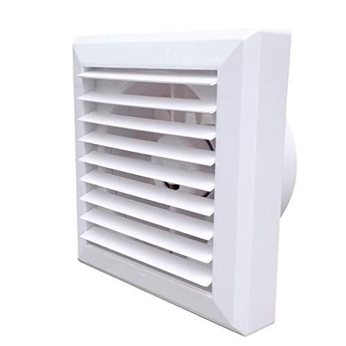 XJJZS Potente Ventilador silencioso de Escape, for el Montaje del Ventilador FanWall de Cocina Baño Ventana higiénico doméstico