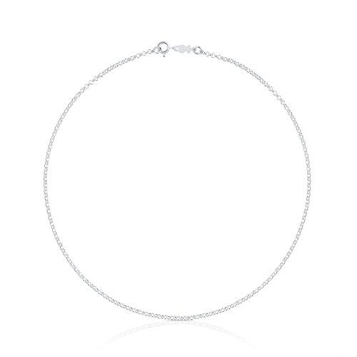 TOUS Collar cadena Mujer Plata de Primera Ley - Largo 40 cm Título
