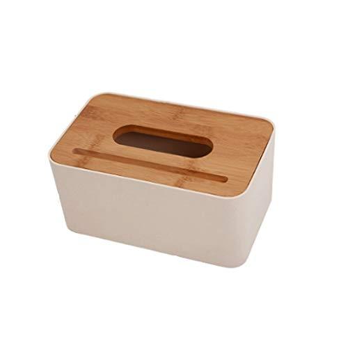 ZHongWei - Tissue Box Abdeckung Papierhandtuch Aufbewahrungsbox, Papier Box Bambus Holz Drei Designrolle Papierfach Nordic Wind Hause Wohnzimmer Kreative Toilettenpapierrohr / - / (Size : B)