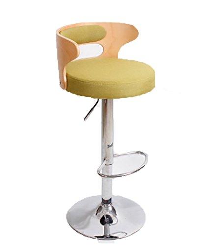 Kruk, stoelen, banken, barkruk, barkruk, barkruk, barkruk, barkruk, barstoel, hoge stoel van massief hout, kruk, leuning draaibaar, modern, stool E