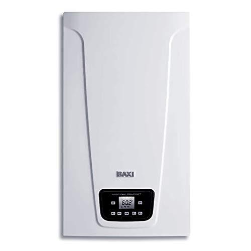 Caldera estanca mixta instantánea, condensación, potencia térmica 24-29 kW, serie Platinum Compact 30/30 F Eco Black Edition, para ACS y calefacción, 30 x 40 x 70 centímetros (Referencia: 7725725)