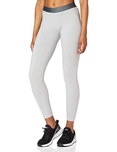 Under Armour Favorite Legging WM AR Femme - Gris (Pitch Gray Medium Heather (012)/Black) - S