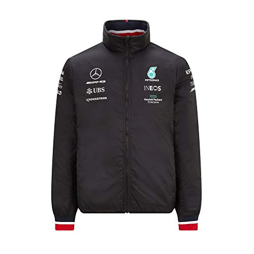 Mercedes AMG Petronas Mens Lightweight Padded Jacket 2021 XL