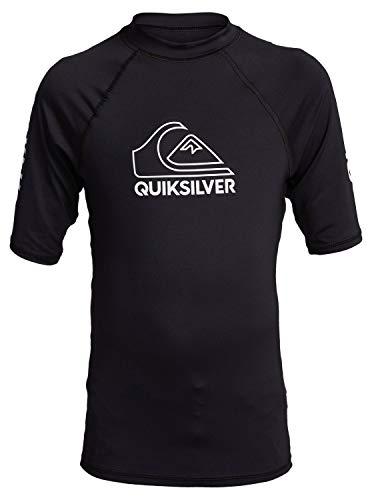 Quiksilver™ On Tour - Lycra manches courtes UPF 50 - Garçon Enfant - Noir - 16 ans (XL)