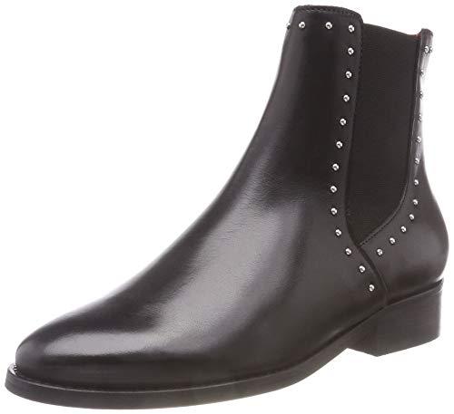 Buffalo Damen Cascade Sauvage Leather Stiefeletten, Schwarz (Black 01 00), 40 EU