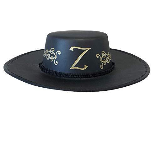 Liontouch 16009LT Chapeau Z-Bandit Mousse Jouet Enfants Noir | Ligne Costumes pour Enfants
