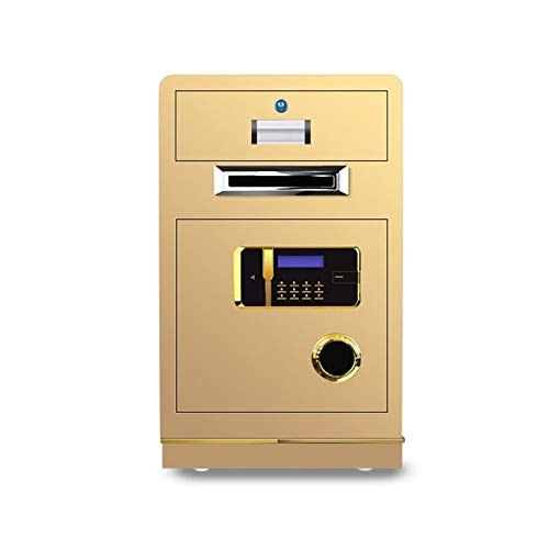 Security Safe Hotel Safe Coin-operated Cash Register Coin-operated Cash Register Office All-steel Safe Commercial Money Box High Security Safe for Home Office (Color : B, Size : 70x43*38cm)