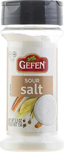 GEFEN Sour Salt, NET WT 5.5 oz (156g)
