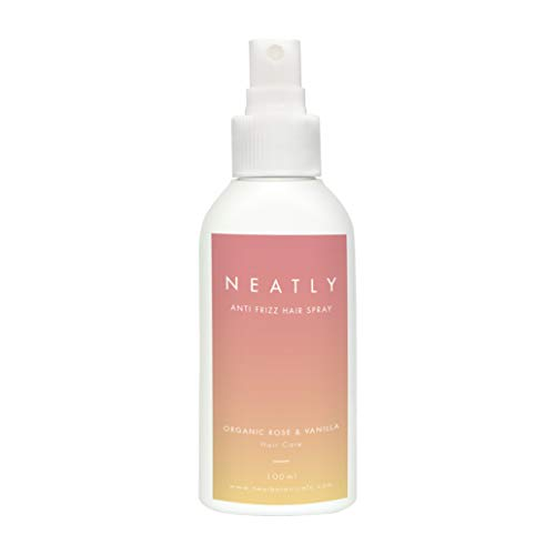 Spray Anticrespo Capelli by NEATLY I 100 ml I Trattamento per Capelli Crespi e Secchi I Ottima Alternativa a Maschera, Shampoo e Piastra I Biologico,