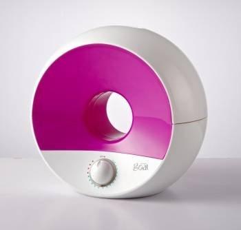 Prozone Sphere Humidificador Ultrasónico Diseño Moderno, Ionizador Purificador de Aire, Cajón Aroma, On/Off Luz de Noche. Color Cerise