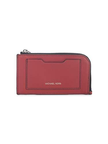 Luxury Fashion | Michael Kors Heren 39S0LGFE6L648 Rood Leer Portemonnees | Lente-zomer 20