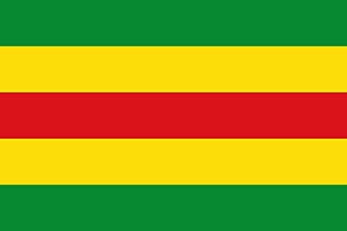 magFlags Bandera Large De Proporciones 2/3, estará formada por Cinco Franjas horizontales de la Misma Anchura   Bandera Paisaje   1.35m²   90x150cm