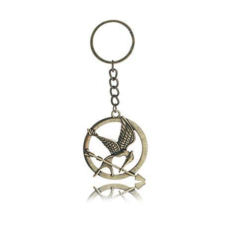 Llavero de metal de The Hunger Games con diseño de Sinsajo
