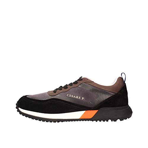 Cesare p. by paciotti 1515MSVP05 Sneakers Hombre Black Brown 45