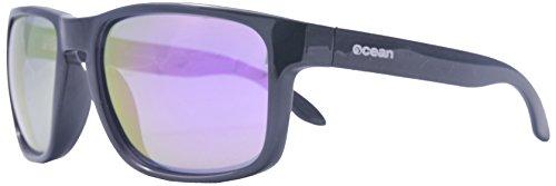 Ocean Sunglasses - Blue Moon - lunettes de soleil polarisées - Monture : Noir Mat - Verres : Revo Violet (19202.6)