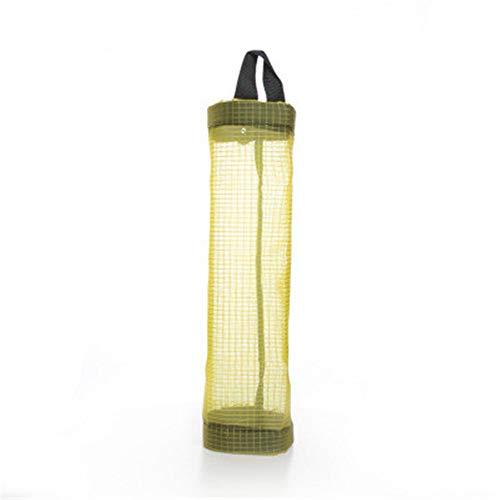 PPTS Küchen-Müllbeutel Aufbewahrungstasche praktische Extraktionstasche Kunststofftasche Einkaufstasche Sortiernetz Tasche, gelb, 11.5*39.5cm