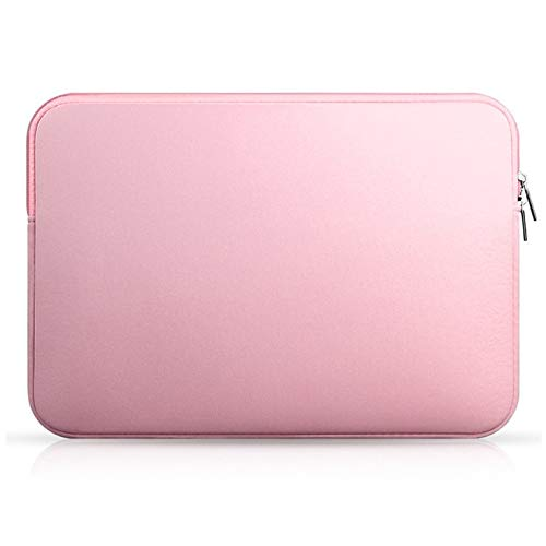 QiKun-Home Laptop Notebook Sleeve Case Bag Pouch Cover For MacBook Air/Pro 11''13''14''15'Protective Bag For Notebook Pink 14 inches