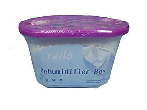 """10x 500ml Box""""Lavendel"""" Auto Raum Luftentfeuchter Box mit 230g Granulat (Calciumchlorid) - nachfüllbar -"""