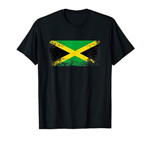 Jamaika Flagge tshirt für Männer Frauen und Kinder T-Shirt