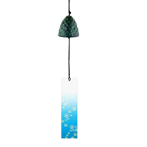 Sharplace Japanisches Furin Windspiel Tempelglocke für Zuhause, Küche, Garten, Fenster Deko - #13