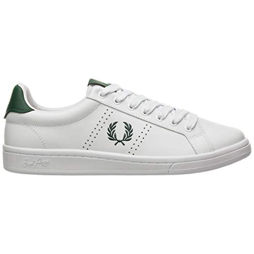 Fred Perry Hombre B721 Zapatillas offwhite