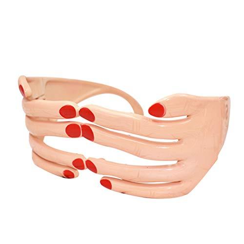 Neuheit Finger Geformte Gl?ser Fancy-Kugel-Augen-Schablonen-Dekoration-Partei-Kostüm-Bevorzugungen Erwachsene Photo Booth Props Glasses
