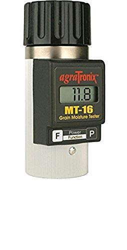 Agratronix MT-16 Portable Grain Moisture Tester with Digital Meter Display