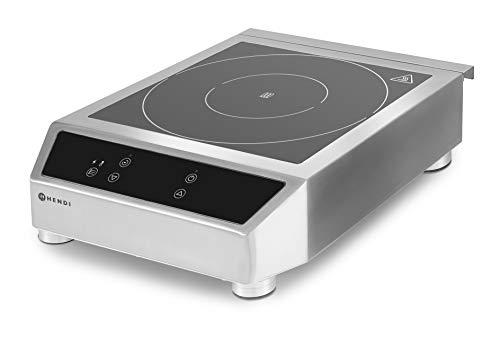 Hendi 239711 Plaque de cuisson à induction modèle 3500 D 340 x 440 x 120 mm