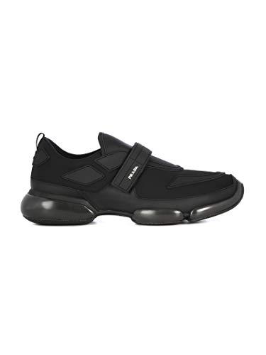 Luxury Fashion   Prada Heren 2OG0662ODJF0002 Zwart Stof Sneakers   Lente-zomer 20