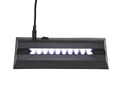 C-Kom LED Leuchtsockel TD-MT10 170x70x30mm Untersetzer Beleuchtung Deko Lasergravur Foto