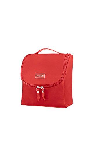 Samsonite Karissa Cosmetic Cases - Trousse de Toilette, 23 cm, Rouge (Formula Red)