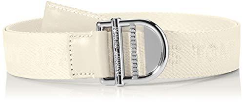 Tommy Jeans Damen TJW Essential Webbing Belt 3.5 Gürtel, Zuckerrohr, 75