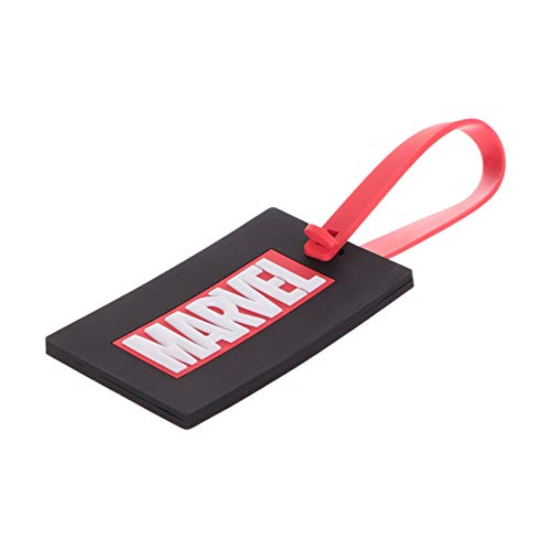 MINISO Marvel Luggage Tag for Journey Suitcase Silicone Suitcase Tag Personalized Luggage id Tags Labels for Travel - Marvel