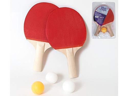 Set Palas y Pelotas de Ping Pong