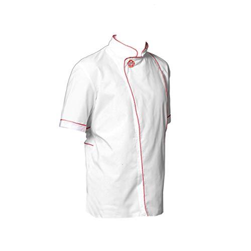Veste casaque pour pizzaiolo blanc