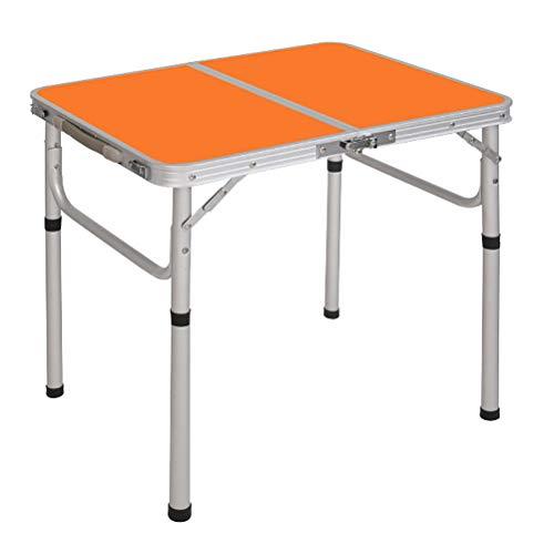 YPOD Mesa Plegable para Acampar, Mesa Plegable Al Aire Libre De Almacenamiento Conveniente, Escritorio De Altura Ajustable(Color:HLC)