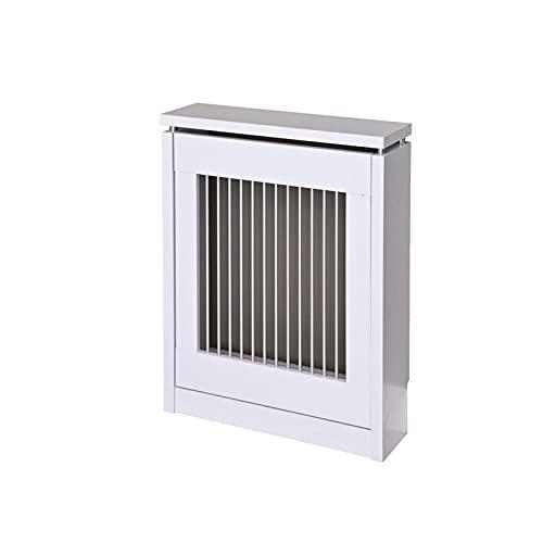 TopKit | Cubre radiadores Cristian 3060 | Cubreradiadores Modernos | Medidas Exterior 83,5 x 60 x 18,5 cm | Medidas Interior 81 x 54.5 x 15 cm | Estanterias para radiador | Blanco