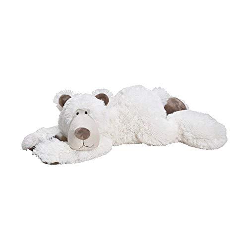 Wurm Plüschtier Eisbär 58cm Flauschiger Knuddelbär Kuscheltier Stofftier Teddybär