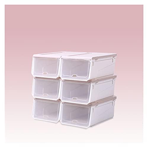 Organizador de almacenamiento de zapatero Organizador de zapatos Rack Extensible Hogar Zapatillas de zapatos Multifuncional Estante de almacenamiento de plástico para la entrada de la habitación del a