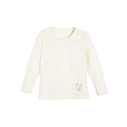 Living Crafts Living Crafts Baby/Kinder Langarm-Hemd aus Bio-Wolle/Seide