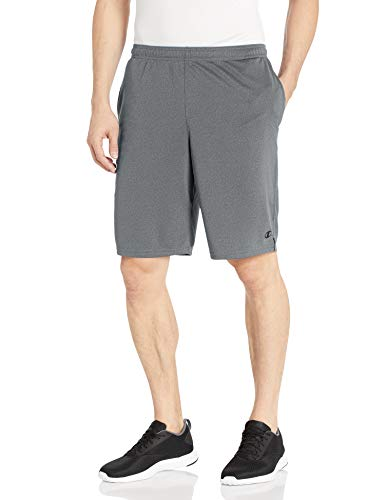 Champion Men's Core Training Short, Granite Heather, Large