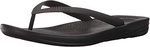 Fitflop Iqushion Ergonomic Flip-Flops, Infradito Uomo, Nero (Black 001), 42 EU