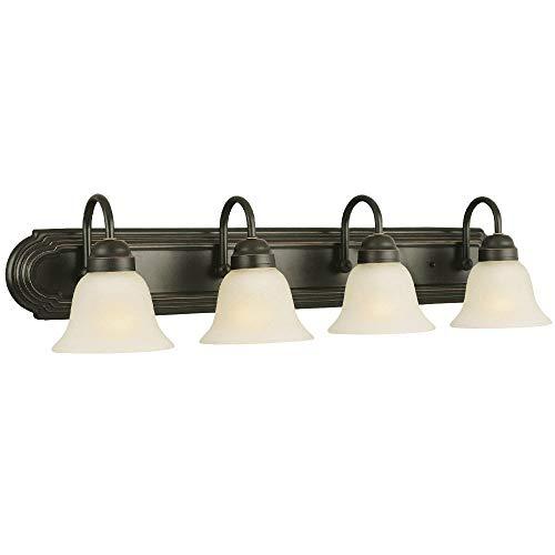 Design House 506626 Allante 4 Light Vanity Light, Oil Rubbed Bronze