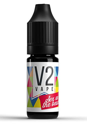V2 Vape Sex on the Beach Cocktail AROMA / KONZENTRAT hochdosiertes Premium Lebensmittel-Aroma zum selber mischen von E-Liquid / Liquid-Base für E-Zigarette und E-Shisha 10ml 0mg nikotinfrei