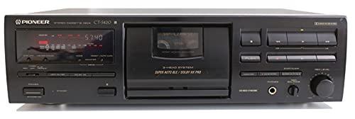 Pioneer CT-S 420 Stereo Kassettendeck in schwarz