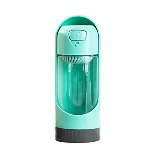Ruiqas Tragbare Outdoor-Wasserflasche für Hunde, 300 ml, aus ungiftigem ABS-Material für die Sicherheit Ihres Haustiers, 2 Farben zur Auswahl