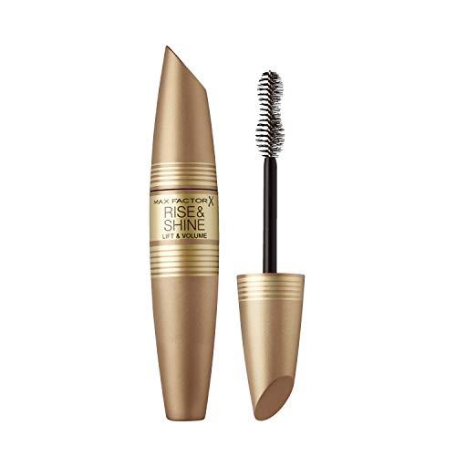 Max Factor Rise & Shine Mascara, de verzorgende wimperverf geeft volume en schwung, kleur zwart, 12 ml