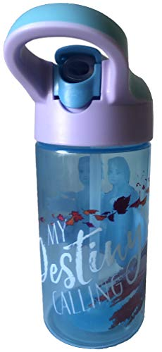 Zak Designs Frozen 2 16oz Water Bottle with Push-Button Lid and Carrying Loop